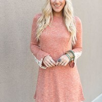 Lace Belle Sleeved Dress