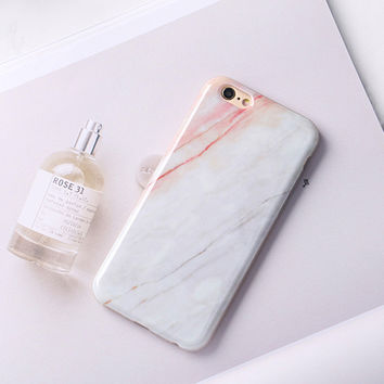 6s 4.7 Fashion Phone Cases For iPhone6 Case Marble Stone image Painted Cover For iphone 6 6S / Plus New Screen Protector -0318