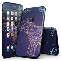 Colorful Sacred Elephant - 4-Piece Skin Kit for the iPhone 7 or 7 Plus