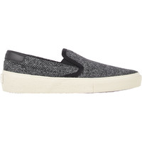 Tweed Skate Slip-On Sneakers