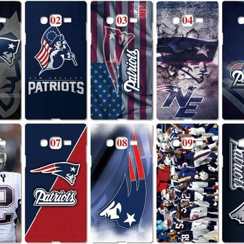 New England Patriots Case For Samsung Galaxy A5 A7 2018 Version S9 Plus S4 S5 S6 S7 Edge Note 3 4 5 E5 E7 Phone Cover Coque Capa