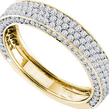 Diamond Fashion Band in 14k Gold 0.83 ctw