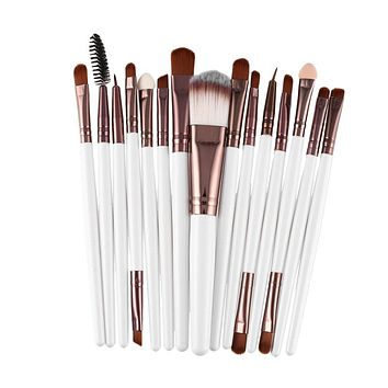 15Pcs/Kit Makeup Brushes Set