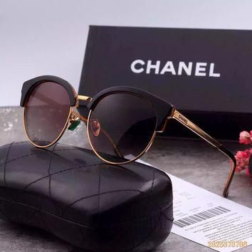 Original Chanel Retro Polarized Flash Lenses Sunglasses 5383 - 81