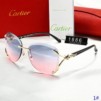 Cartier New fashion polarized sun protection glasses eyeglasses women 1#