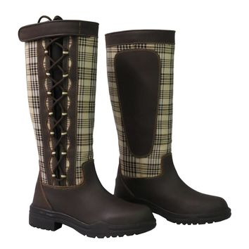Baker Ladies Ajuste Waterproof Leather Boot