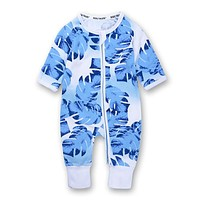 Baby Cotton Baby Sliders with long Sleeve Baby Boy Clothes Baby One Piece Cute Special Clothes For Kids