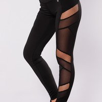 Martha Active Leggings - Black