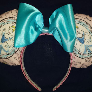 Elegant Princess Cinderella Mouse Ears