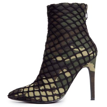 Cape Robbin Gigi-38 Women's Camo Booties
