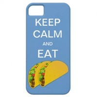 Keep Calm and Eat Tacos iPhone 5 Case from Zazzle.com