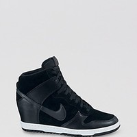 Nike High Top Lace Up Sneakers - Women's Dunk Sky Hi | Bloomingdale's