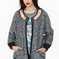 Nasty Gal Collection Dimension Coat