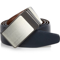 River Island MensBrown and blue reversible plate belt