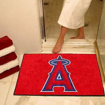 Los Angeles Angels Bath Mat Shower Area Rug