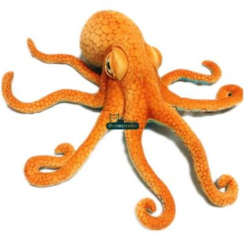 Octopus Realistic Giant Stuffed Animal Plush Toy 31""