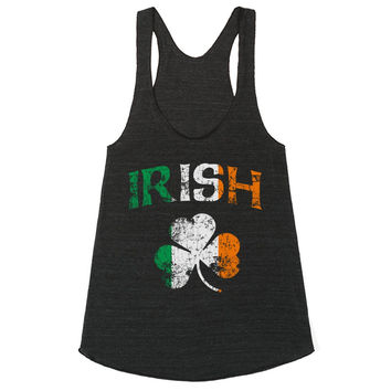 Vintage Irish Flag Shamrock