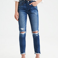 Hi-Rise Girlfriend Jean, Dark Vintage