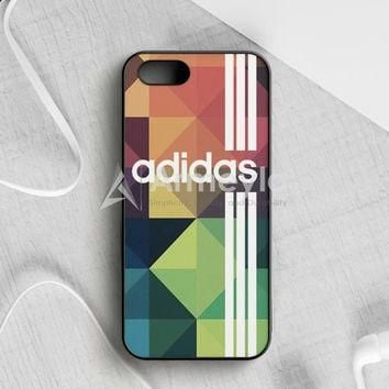 Adidas Logo Stripe Black White iPhone 5|5S|SE Case | armeyla.com