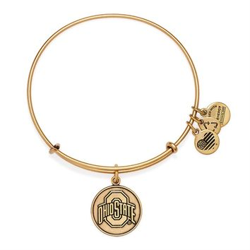 Ohio State University Logo Charm Bangle