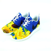 Sunflower Custom Roshe Runs