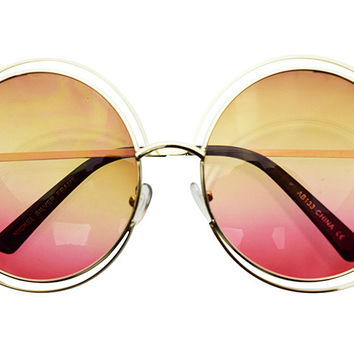 Spiral Sunglasses in Sherbert