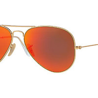 Ray-Ban Polarized RB3025 58 ORIGINAL AVIATOR Sunglasses | Sunglass Hut