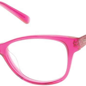 Guess - GU9135 Fuchsia Eyeglasses / Demo Lenses