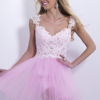 Serendipity Prom -Blush 9877 cocktail dress - Blush Prom Dresses - Blush9877
