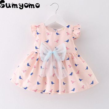 Newborn Baby Girl Summer Dress Bapteme Summer bebe 1 Year Birthday Christening Party Tutu Princesses Dress