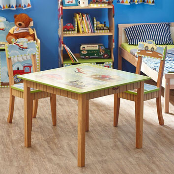 Fantasy Fields - Transportation Table & Set of 2 Chairs