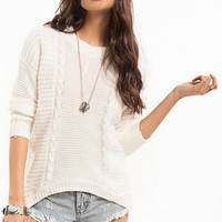Livin' Knit Up Sweater $42