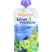 Organic - Fiber and Protein - Pear, Blueberry & Spinach - Case of 16