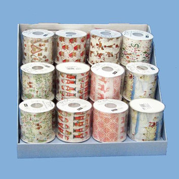 24 Rolls Toilet Paper - Christmas Designs