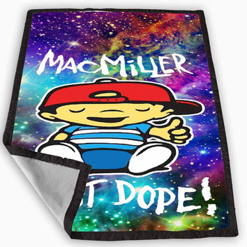 Mac Miller Most Dope galaxy Blanket for Kids Blanket, Fleece Blanket Cute and Awesome Blanket for your bedding, Blanket fleece *