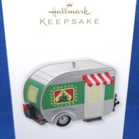2010 Happy Campers Hallmark Retired Ornament