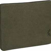 "Case Logic Canvas Kindle DX Sleeve (Fits 9.7"" Display, Latest and 2nd Generation Kindles), Dark Green"