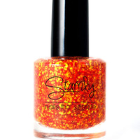Walking on Fire- Handmade Nail Polish Full Bottle