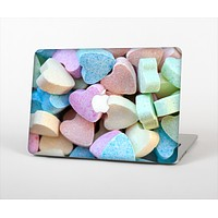 The Multicolored Candy Hearts Skin Set for the Apple MacBook Pro 13""