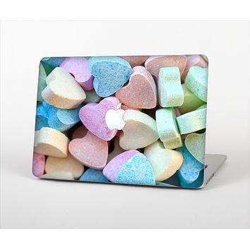 The Multicolored Candy Hearts Skin Set for the Apple MacBook Air 11""