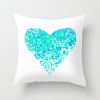 lost in thoughts Throw Pillow by Marianna Tankelevich
