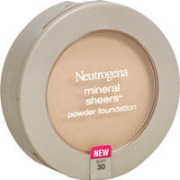 Neutrogena Mineral Sheers Powder Foundation Spf 20 30 Buff