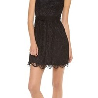 Lace Princess Seam Dress