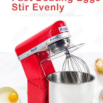 7L/10L electric planetary food mixer  mixer egg beater with dough hook removable bowl