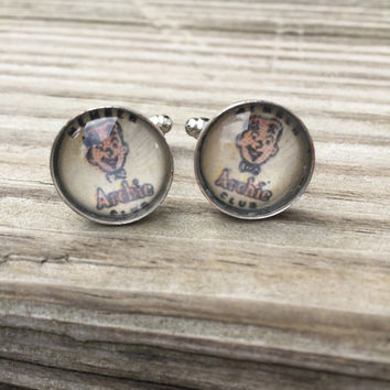 Archie Cufflinks (Ready to Ship) - Archie Cufflinks Groom's Corner - Wedding Cufflinks - Everyday Cufflinks
