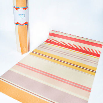 Yoga mat work out gift idea for a health nut exercise and well being