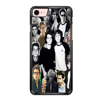 Evan Peters Collage 2 iPhone 7 Case