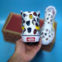 HCXX Vans Marvel Alliance Avatar High Casual SKte Shoea White