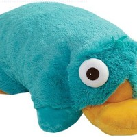 "Pillow Pets Authentic Disney 18"" Perry, Folding Plush Pillow- Large"