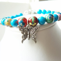 Butterfly Bracelet, Nature Jewelry